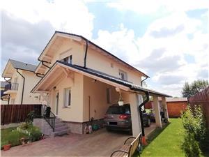 Casa de vanzare in Sibiu - individuala -cocheta si moderna