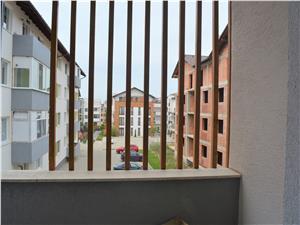 Garsoniera de vanzare in Sibiu - Etaj 1 cu balcon - Finisata CHEIE
