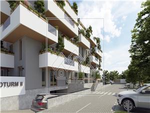 Apartament de vanzare in Sibiu cu 2 camere - Vila cu Piscina