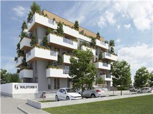 Apartament de vanzare in Sibiu 2 camere Etaj 1 cu Terasa de 14mp