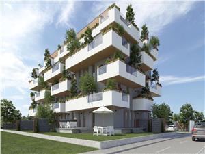 Apartament de vanzare in Sibiu cu 3 Camere la Etajul 1 - Terasa 25 mp