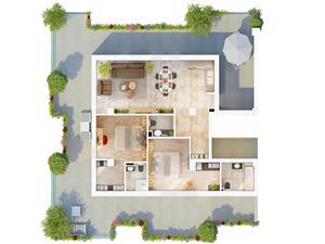 Apartament de vanzare in Sibiu de Tip Penthouse cu Terasa de 97 mp