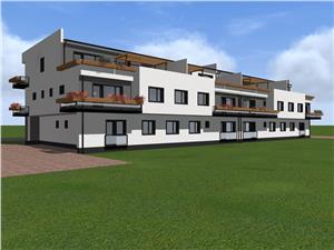 Apartament de vanzare in Sibiu - 3 camere - balcon si o terasa de 42mp