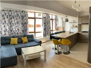 Apartament de inchiriat in Sibiu  zona centrala mobilat de lux