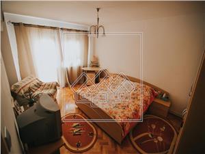 Wohnung zum Verkauf in Sibiu mit 4 Zimmern