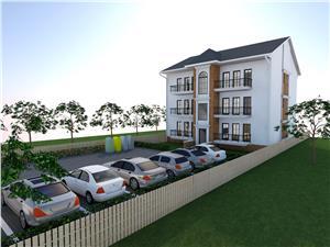Apartament de vanzare in Sibiu -3 camere - Spatios - Etaj 1 si Parcare