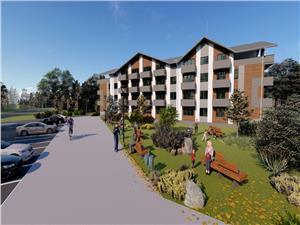 Apartament de vanzare in Sibiu -3 camere,3 balcoane si terasa 27 mp