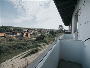 3-Zimmer Wohnung kaufen in Heltau, Sibiu, mit 2 Terassen