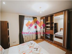 Apartament de inchiriat in Sibiu - in vila - mobilat si utilat premium