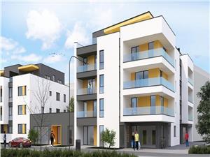 Apartament de vanzare in Sibiu - 3 camere,2 grupuri sanitare - P. Cluj