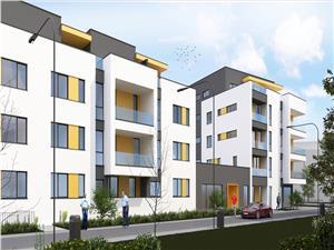 Apartament de vanzare in Sibiu-3 camere si balcon si balcon de 19 mp