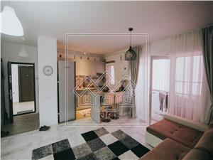 Apartament de vanzare in Sibiu complet Mobilat si Utilat cu Gradina