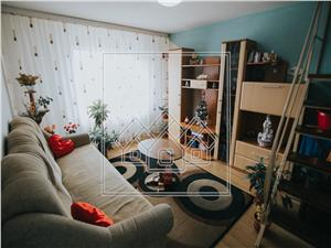 Apartment for sale in Sibiu - 2 rooms - furnished and equipped
