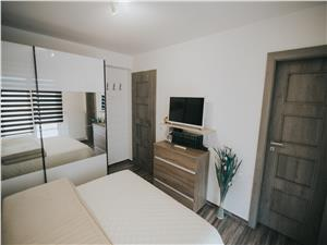 Apartament de vanzare in Sibiu -3 camere si 2 terase-mobilat si utilat