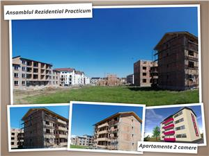 Apartament 2 camere de vanzare in Sibiu-decomandat-bucatarie separata