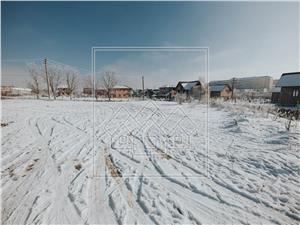 Teren intravilan de vanzare in Sibiu - loc de casa - Cisnadie