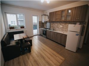 Apartament de inchiriat in Sibiu -2 camere+gradina mobilat si utilat