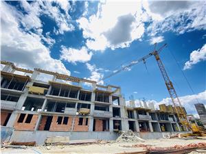 Apartament de vanzare in Sibiu - 2 camere si 3 balcoane - zona PREMIUM