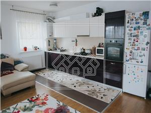 Apartament de vanzare in Sibiu - 3 camere cu balcon- mobilat si utilat