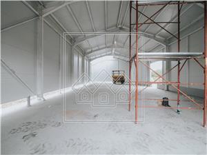 Spatiu industrial de vanzare in Sibiu -hala 260 mp utili,teren 3000 mp