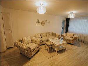 Apartament 3 camere de inchiriat in Sibiu -mobilat si utilat modern