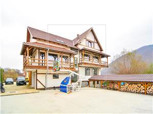 Casa de vanzare in sibiu - vila Lux zona Cisandioara cu teren baschet