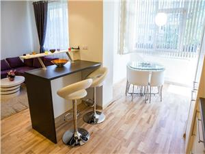 Apartament cu 2 camere de inchiriat in Sibiu -mobilat si utilat modern