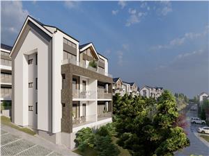 Apartament 2 camere Sibiu - 52,89 mp + logie, incalzire in pardoseala