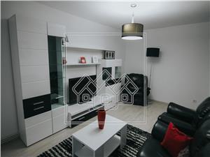 Apartament 3 camere de inchiriat in Sibiu -Zona buna-mobilat si utilat