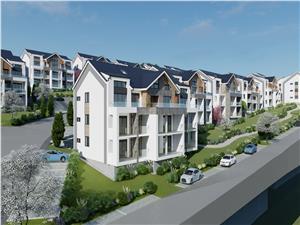 Apartament 2 rooms for sale in Sibiu - 53.45 sqm - 7.47 sqm loggia