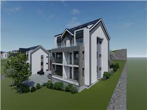 Apartament 3 camere de vanzare in Sibiu -2 bai - logie de 11.88 mp