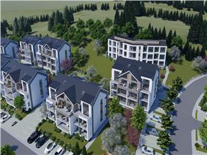Apartament 2 rooms for sale in Sibiu-54.14 sqm - 6.97 sqm loggia