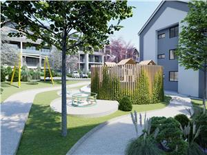 Apartament 2 camere de vanzare in Sibiu - 52.24 mp + logii de 10.41 mp