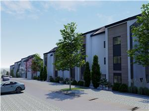 Apartament de vanzare in Sibiu - 3 camere - logie de 9.11 mp