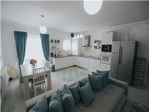 Apartament 3 camere de vanzare in Sibiu- etaj 1 - mobilat si utilat