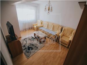 Apartament cu 4 camere de inchiriat in Sibiu - 2 balcoane - Strand I