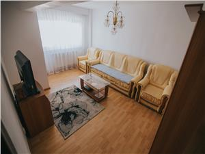 Apartment for rent in Sibiu -4 rooms and 2 balconies - Beach I