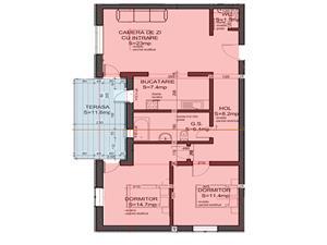 Apartament 3 camere vanzare in Sibiu - suprafete generoase-terasa mare