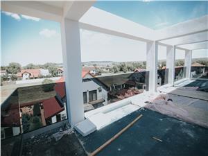 Penthouse de vanzare in Sibiu - decomandat - terasa 37.70 mp
