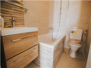 Apartament de vanzare in Sibiu -2 camere si terasa-mobilat si utilat