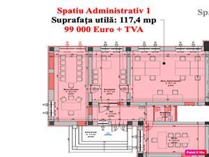 Spatiu birouri de vanzare in Cisnadie - zona Centrala