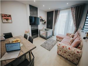 Apartament de vanzare in Sibiu - Selimbar - 2 camere - balcon mare
