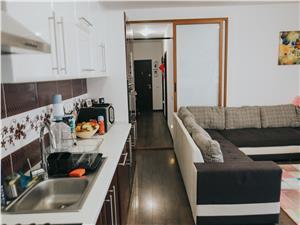 Apartament de vanzare in Sibiu - 2 camere - curte 21 mp, Valea Aurie