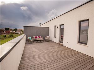 Casa de inchiriat in Sibiu - cu terasa de 50 mp - proprietate de lux
