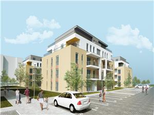 Apartament de vanzare in Sibiu cu 3 camere - inteligent compartimentat