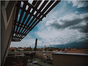 Penthouse de vanzare in Sibiu - terasa mare de 122 mp - zona Strand