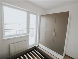Apartament de inchiriat in Sibiu -2 camere cu terasa-mobilat si utilat