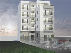 3-room apartment for sale in Sibiu - building with elevator