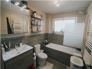 Apartament de vanzare in Sibiu-3 camere si 2 balcoane-