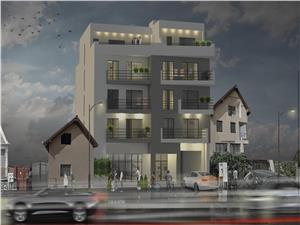 Apartment for sale in Sibiu - 3 rooms and 2 balconies -